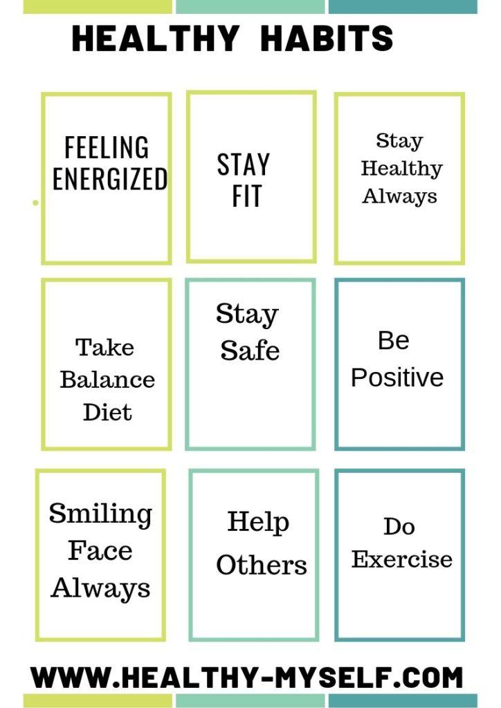 Healthy Habits -Healthy-myself.com
