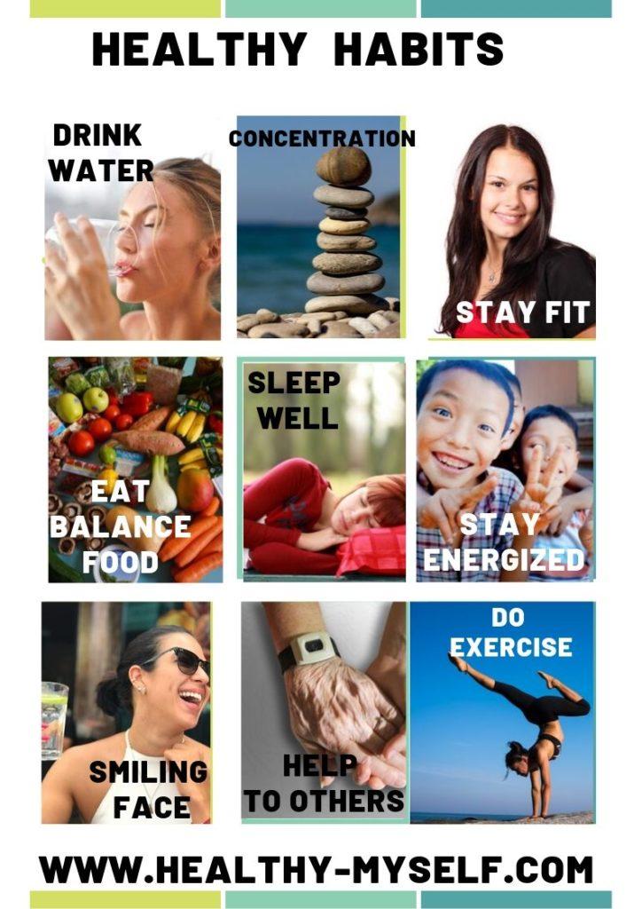 Healthy Habits Picture-Healthy-myself.com